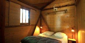 cabane perchee chambre