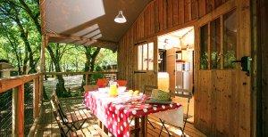 cabane perchee terrasse
